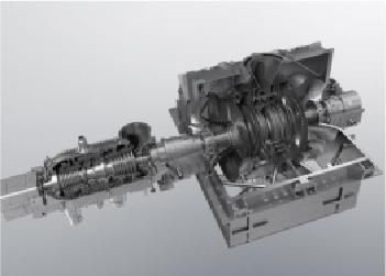 蒸気タービンの軸受け測定