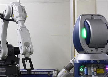 ロボットの軌跡測定
