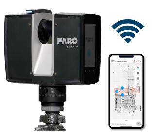 3Dレーザースキャナー Focus S350/S150