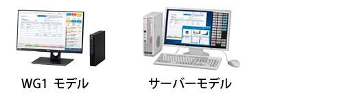 WG1モデル、サーバーモデル画像