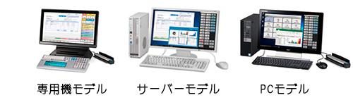 専用機モデル サーバーモデル PCモデル