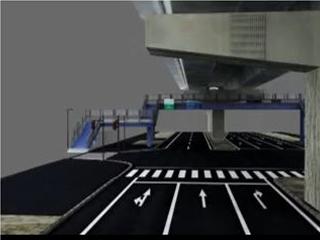 VR 歩道橋